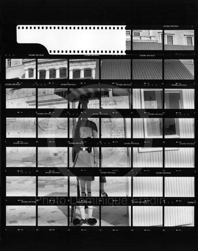La Garde présidentielle. Athènes, 1989.