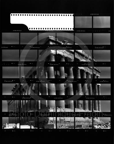 Le Parthénon. Athènes, 1989.