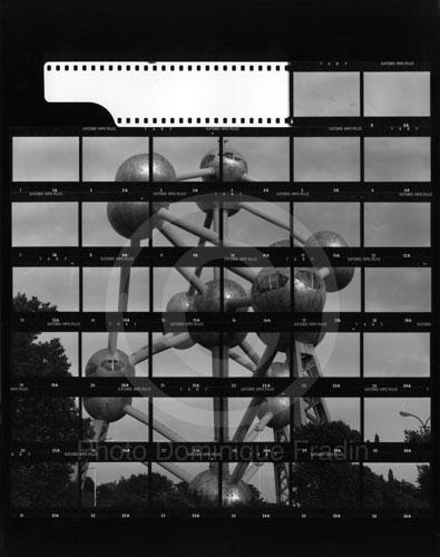 L'Atomium. Bruxelles, 1989.