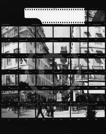 L'Ascenseur Santa Justa. Lisbonne, 1989.