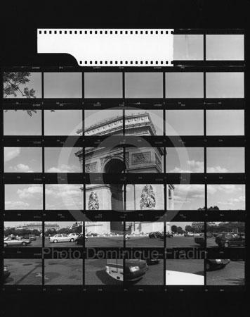 Arc de Triomphe de l'Etoile. Paris, 1989.