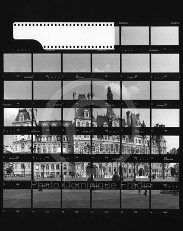 Hôtel de Ville. Paris, 1989.