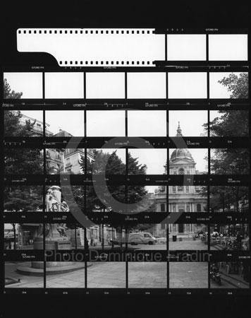 Place de la Sorbonne. Paris, 1989.