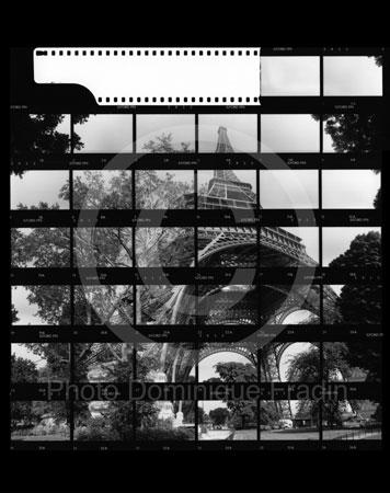 Tour Eiffel. Paris, 1989.