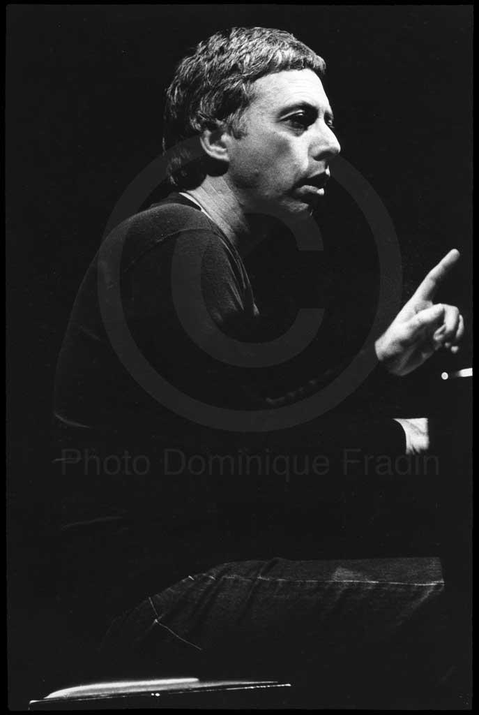 Harold Budd. Rome, 1981.
