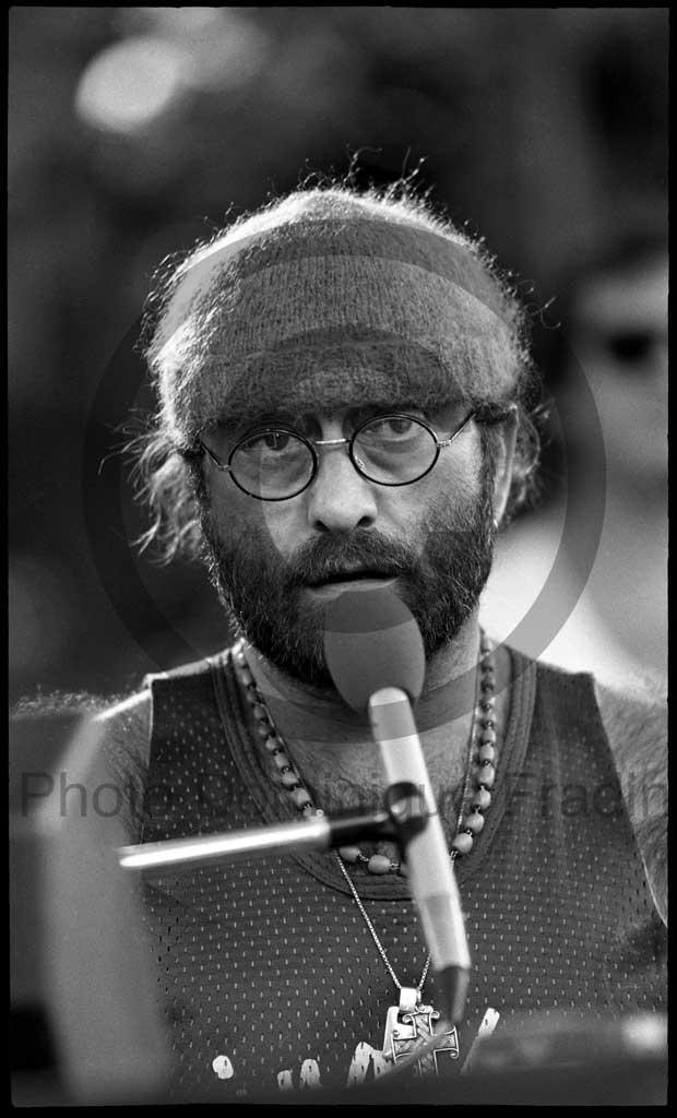 Lucio Dalla. Rome, 1981.