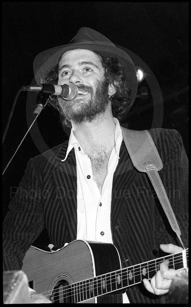 Francesco De Gregori. Rome, 1980.