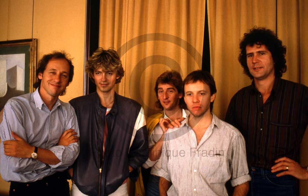 Dire Straits. Rome, 1982.