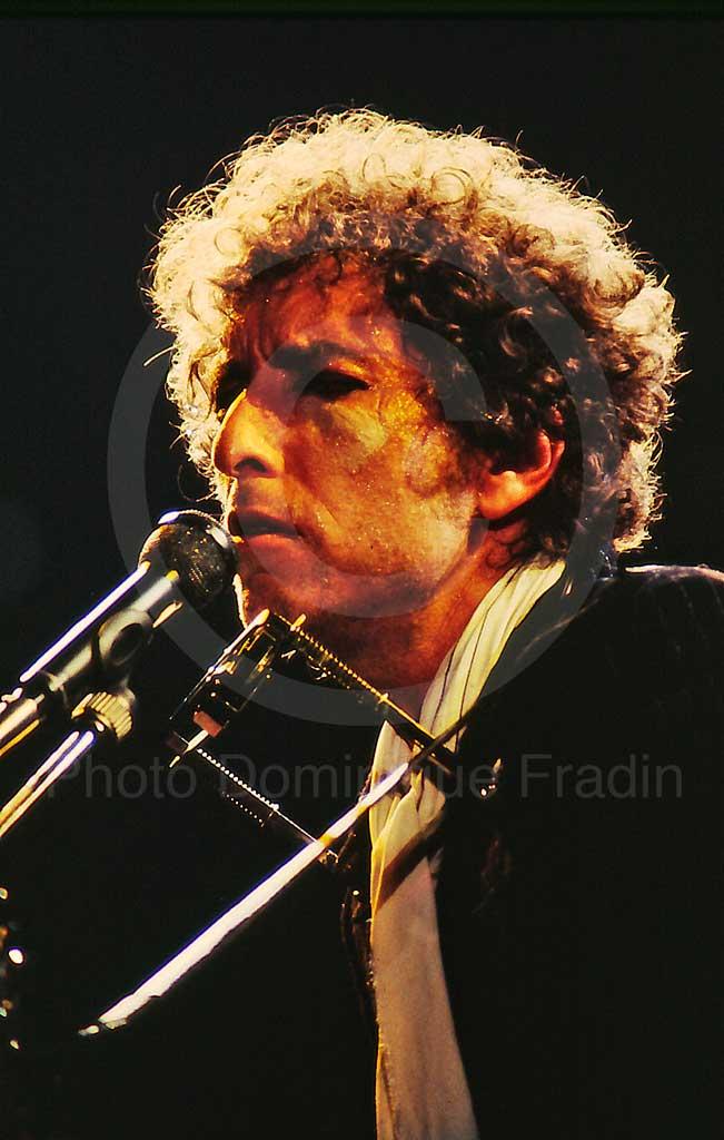 Bob Dylan. Rome, 1984.