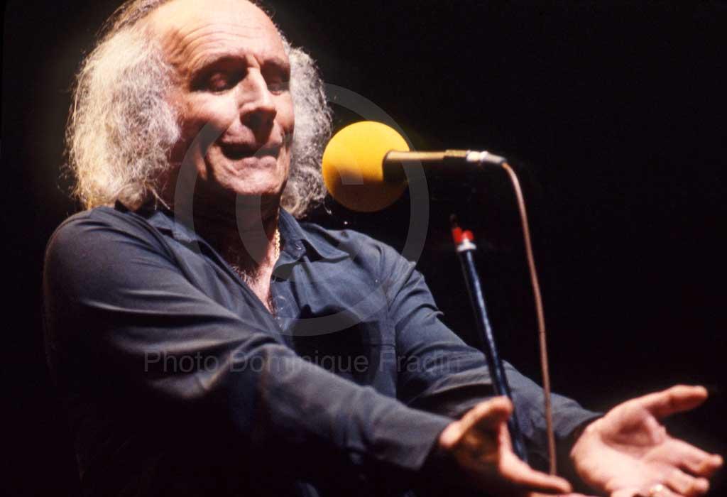 Leo Ferré. Florence, 1982.