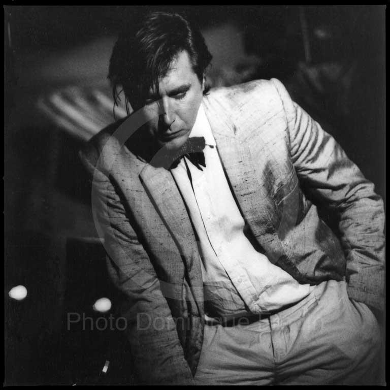 Bryan Ferry. Rome, 1982.