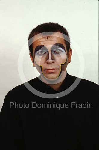 Peter Gabriel. Rome, 1983.