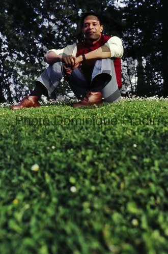 Al Jarreau. Rome, 1982.