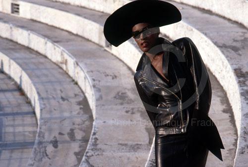 Grace Jones, Rome, 1983.