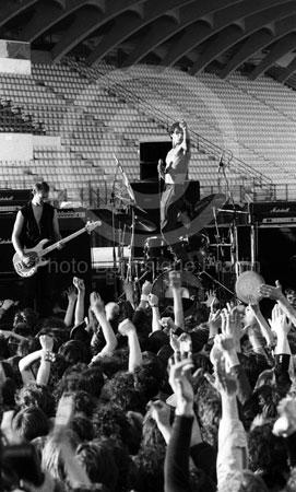 Iggy Pop. Florence, 1980.