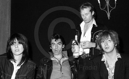 The Pretenders. Rome, 1980.