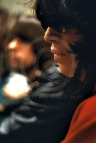 Joey Ramone (Jeffrey Hyman), Bologne, 1981.