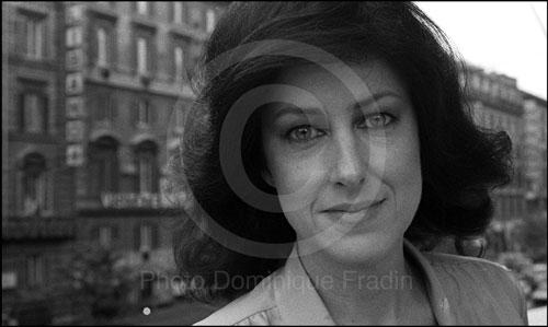Grace SLICK. Rome, 1980.