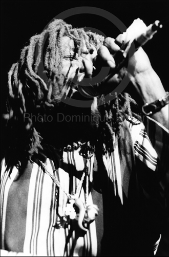 Peter Tosh. Rome, 1981.