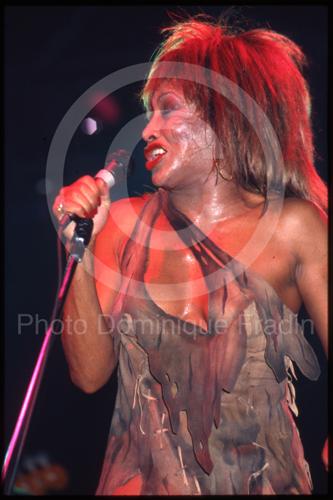 Tina Turner. Rome, 1981.