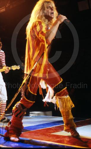 Van Halen. Rome, 1983.