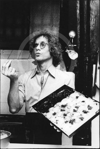 Warren Zevon. Rome, 1981.