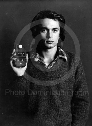 Autoportrait. Rome, 1975.
