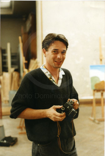Autoportrait. Rome, 1987.