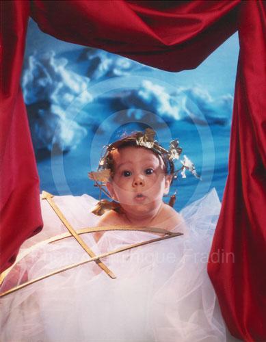 Camille, mon ange, à 3 mois. Paris, 1993.