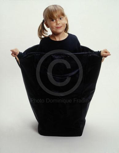 Camille à 6 ans. Paris, 1999.