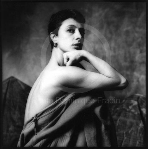 Luciana Castellani, chorégraphe. Milan, 1986.