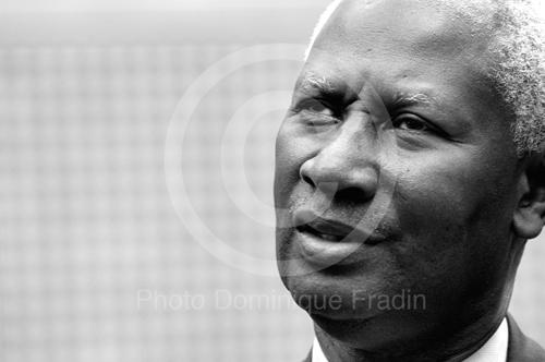 Abdou Diouf, Secrétaire général de l'Organisation Internationale de la Francophonie. Paris, 2007.