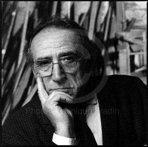 Arnoldo Foà, Homme de théâtre. Milan, 1985.