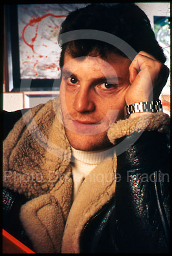 Tcheky Karyo. Rome, 1986.