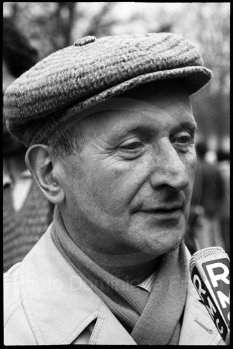 Henri Krasucki. Paris, 1986.
