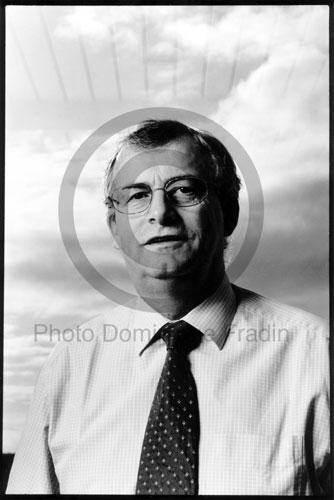 Christian Lajoux, PDG de Sanofi-Aventis. Paris, 1999.