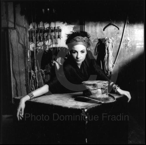 Maguy Marin, chorégraphe. Milan, 1986.