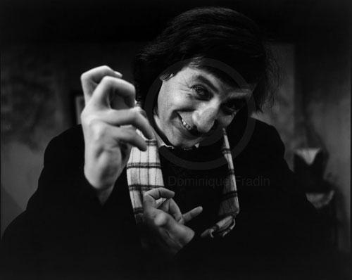 Bolek Polivka, Comédien, dramaturge. Milan, 1986.