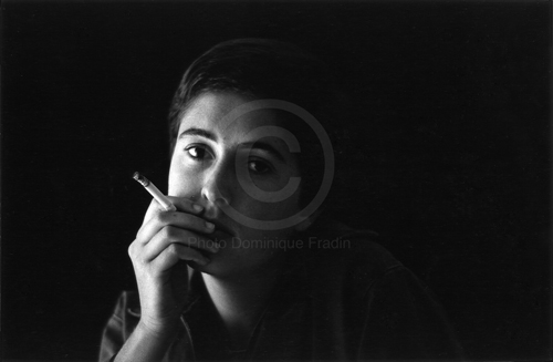 Patrizia Savarese, photographe. Rome, 1973.
