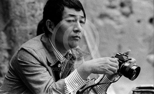 Suhji Terayama, photographe. Arles, 1978.
