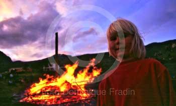 Faskrudsfjordur : La fête.