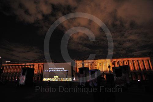 Place de la Concorde, 19h.