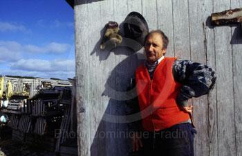 Francis Lainey, pêcheur.