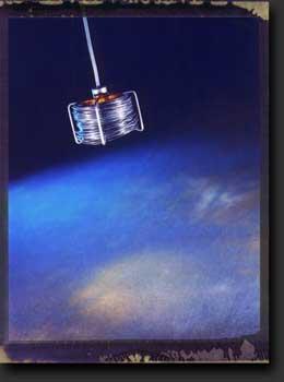 Bobino, 2002. Lampe suspendue dessinée par Jean-François Crochet pour Terzani.