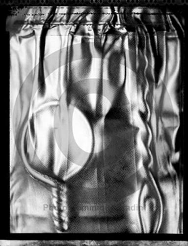 Bouchon de champagne, 1995, Polaroid 55.