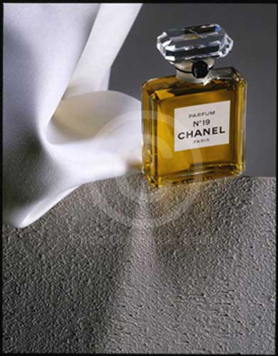 Illustration parfum Chanel, 1987.
